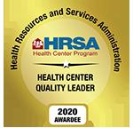 HMS HRSA 2020 Health Center Quality Leader Award